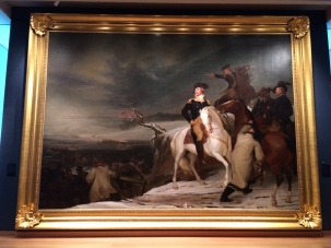 Art from the Americas: The passage of the Delaware- Thomas Sully