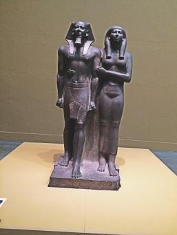 Egyptian sculptures