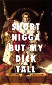 Napoleon I on his Imperial Throne, Jean Auguste Dominique Ingres (1806) / Shabba, A$AP Ferg
