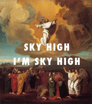 The Ascension (1775), John Singleton Copley / Touch The Sky, Kanye West ft. Lupe Fiasco