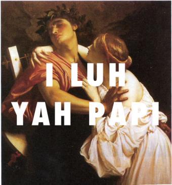 Orpheus and Eurydice (1864), Frederic Leighton / I Luh Yah Papi, Jennifer Lopez ft. French Montana