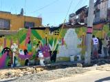 Mural de Christian Pimentel y Gina Paola