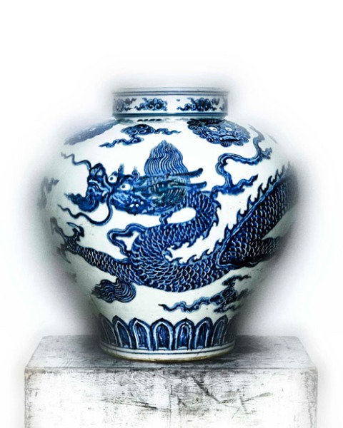 03 Jar with Dragon early 15th Century