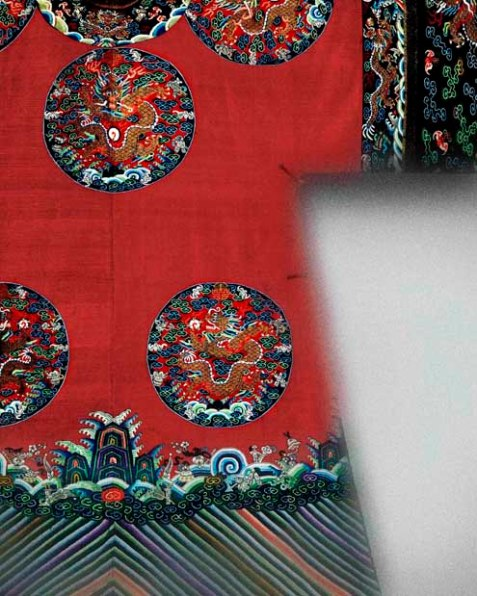 05 Womans Imperial Court Robe Chinese