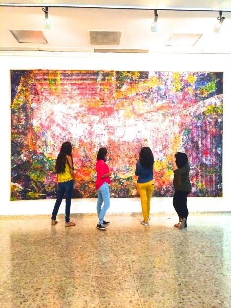 Galeria: Una visita inesperada almuseo